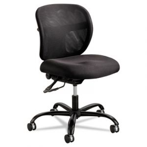 Safco Black Mesh & Fabric Big & Tall Office Chair