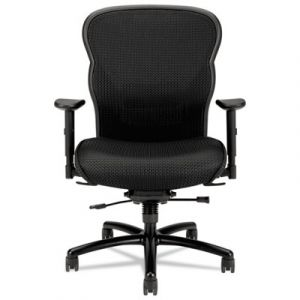 HON Velocity 450 lb Big & Tall Task Chair with Adjustable Arms & Lumbar Support