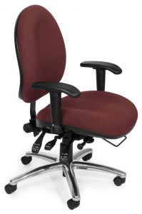 Heavy Duty 24 Hour Big & Tall Ergonomic Office Task Chair by OFM