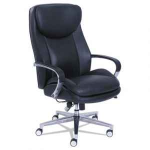 LA-Z-BOY 400 lb Capacity Big & Tall Executive Chair with Dynamic Lumbar Support