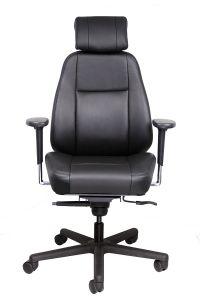 Iron Horse 310S Intensive Use 300 LB 24/7 Heavy Duty Office Chair with Seat Slider - IH-310S