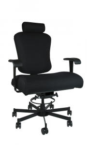 Concept Seating Bariatric 800 LB 24/7 Multi-Shift Heavy Use Office Chair with Headrest - Model 3156HR-BAR