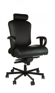 Concept Seating 550 LB 24/7 Multi-Shift Extra Wide Operator Chair with Headrest - Model 3152HR