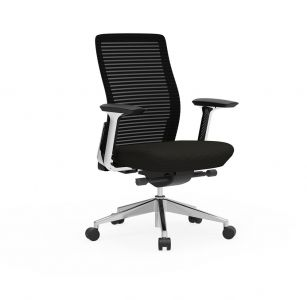 Cherryman Eon 300 LB Conference Chair with Black Frame