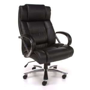 OFM Avenger Series 500 lb Big & Tall High Back Leather Executive Office Chair