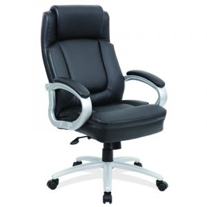Husky Office® 350 LB Big & Tall Executive Chair with Heavy Duty Base