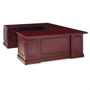 Husky Office® Prestige Series Wood Executive U-Desk