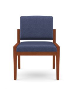 Lesro Amherst Wood® Armless Guest Chair