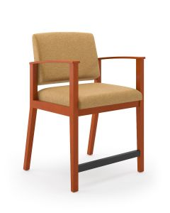 Lesro Amherst Wood® Big & Tall Oversize Hip Chair