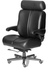 Husky Office® Elite Series 24 Hour 500 LB Big & Tall Office Chair - The General