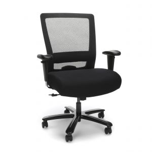 Husky Office® Essentials Big & Tall 350 lb Task Chair with Adjustable Arms
