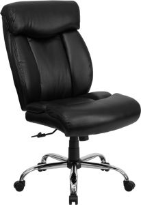 Husky Office® Ares Series 400 LB Capacity Leather Big & Tall Executive Swivel Chair