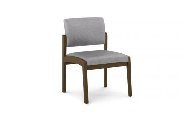 Lesro Lenox Wood® Armless Guest Chair