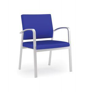 Lesro Newport® 400 LB Steel Oversize Guest Chair
