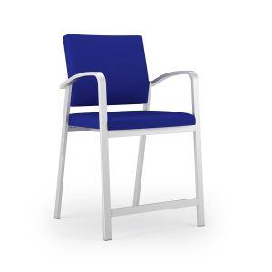Lesro Newport® 400 LB Steel Guest Hip Chair