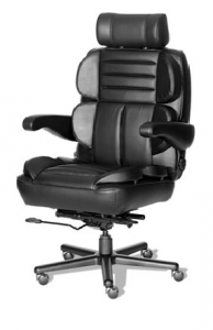 Husky Office® Elite Series 24 Hour 500 LB Big & Tall Office Chair - The Admiral
