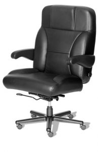 Husky Office® Elite Series 24 Hour 500 LB Big & Tall Office Chair - The Captain