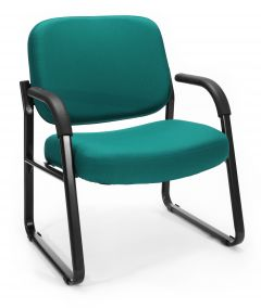 OFM 400 Lb Big & Tall Fabric Side Reception Chair