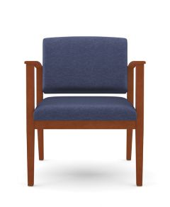 Lesro Amherst Wood® 400 LB Big & Tall Oversize Guest Chair