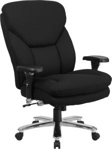Husky Office® Extra Wide Big & Tall 24/7 400 Lb Office Chair with Adjustable Lumbar Support