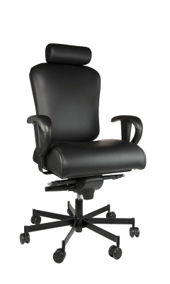 Concept Seating 550 LB 24/7 Multi-Shift Heavy Duty Operator Chair with Headrest - Model 3150HR