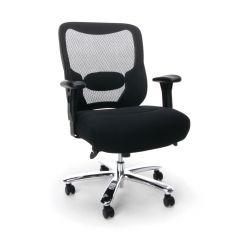 Husky Office® Essentials Big & Tall 400 lb Task Chair with Adjustable Arms & Tilt