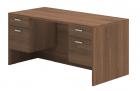 Husky Office® Heavy Duty Double Suspended Pedestal Desk-Large