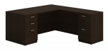 Husky Office® Heavy Duty Double Pedestal L-Desk-Large
