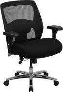 Husky Office® Multi-Shift 24/7 Big & Tall 500 lb Capacity Chair with Back Adjustment