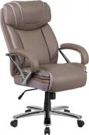 Husky Office® 500 lb Capacity Big & Tall Leather Executive Chair