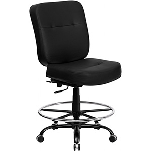 huskyoffice big and tall drafting chair example