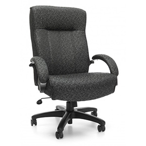 huskyoffice big and tall executive high back chair example